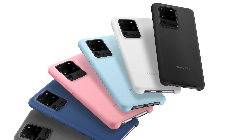 کاور سیلیکونی اس 20 اولترا اصلی سامسونگ Galaxy S20 Ultra Silicone Cover