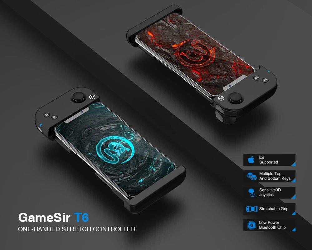 دسته بازی موبایل گیم سیر GameSir T6