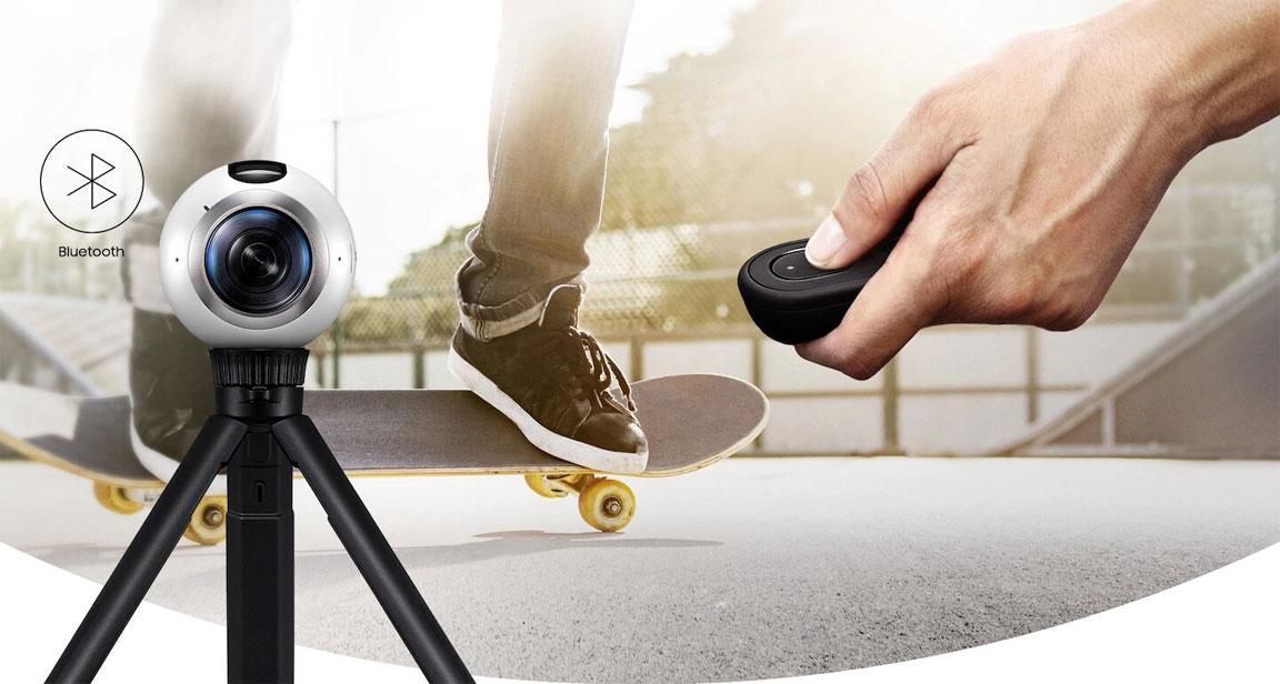 پایه دوربین 360 درجه سامسونگ Gear 360 Value Kit