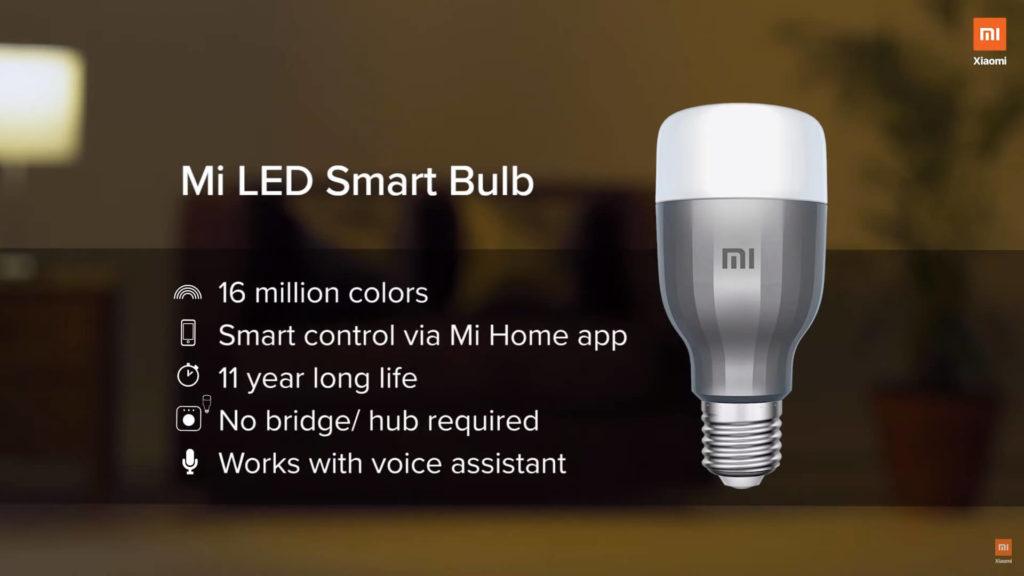 لامپ هوشمند شیائومی Mi LED Smart Bulb مدل MJDP02YL