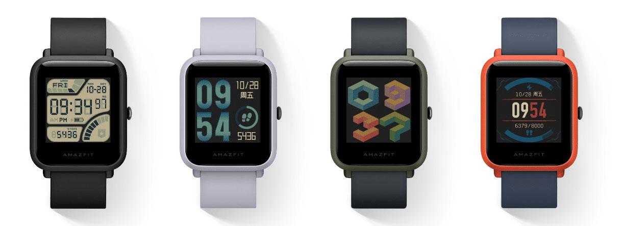 مقایسه ساعت امیرفیت Bip و Amazfit Bip S و Bip Lite ; تفاوت آنها چیست؟