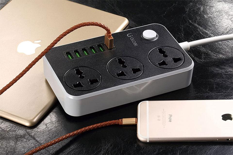 شارژر USB و چند راهی برق الدینیو مدل Ldnio SC3604