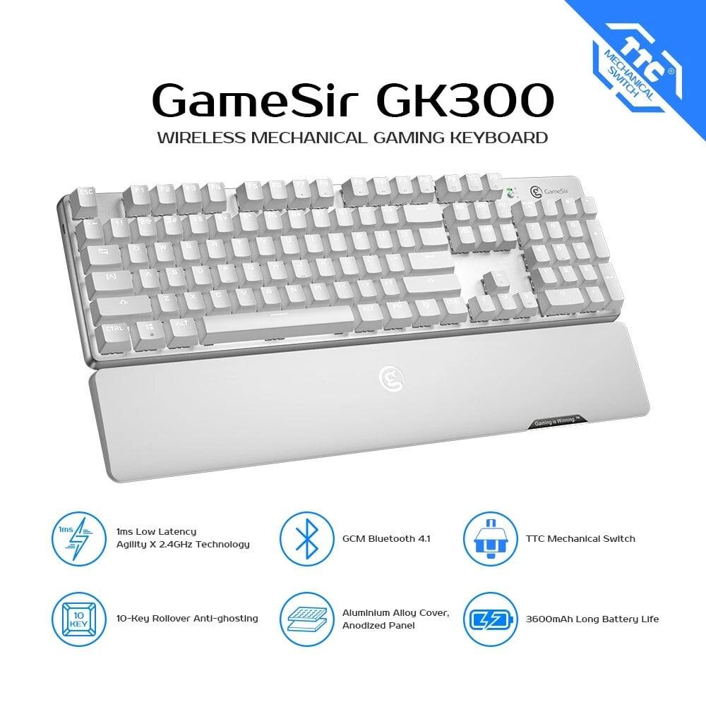 کیبورد گیمینگ بی سیم GameSir GK300