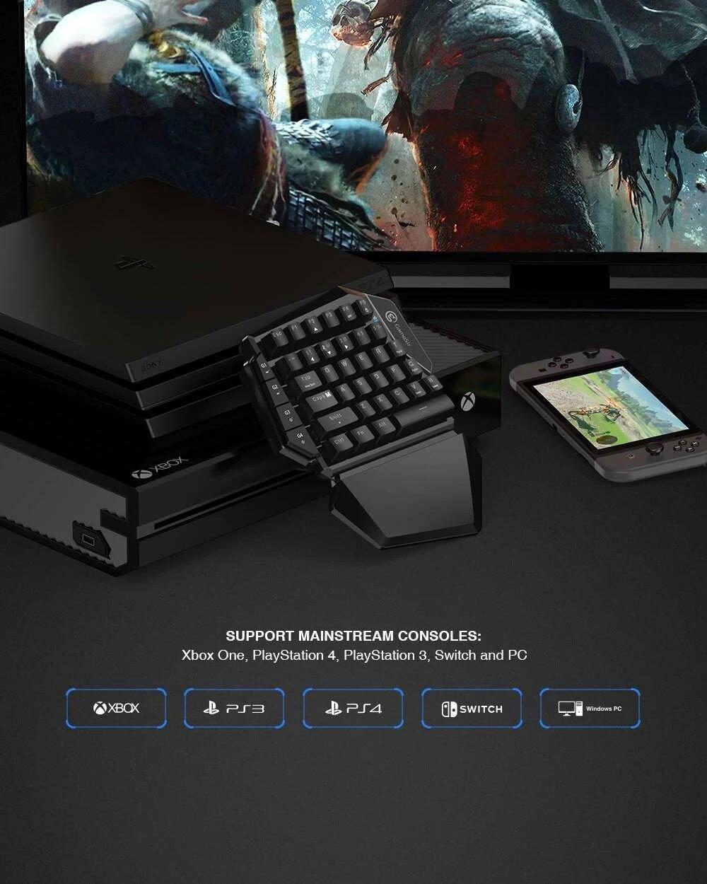 کیبورد و موس گیمینگ مخصوص بازی GameSir VX AimSwitch Combo