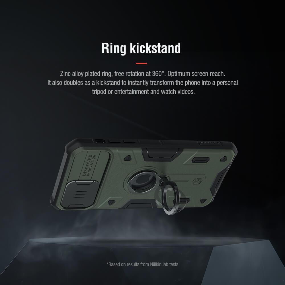 قاب محافظ آیفون 11 پرو مکس Nillkin CamShield Armor iPhone 11 Pro Max