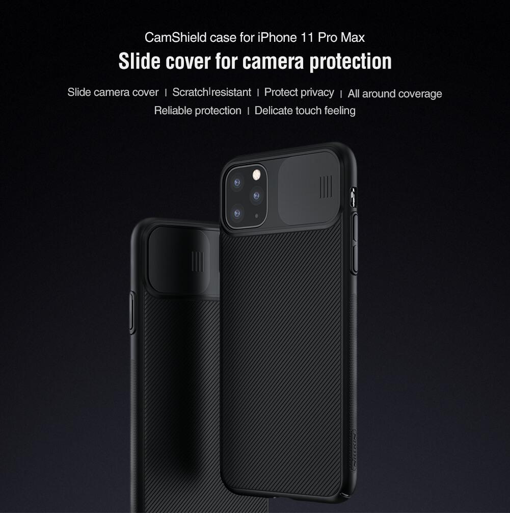 قاب محافظ آیفون 11 پرو مکس Nillkin CamShield Pro Case iPhone 11 Pro Max