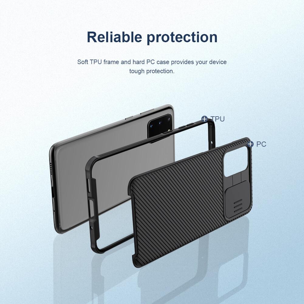 قاب محافظ سامسونگ گلکسی اس 20 پلاس Nillkin CamShield Pro Case S20 Plus