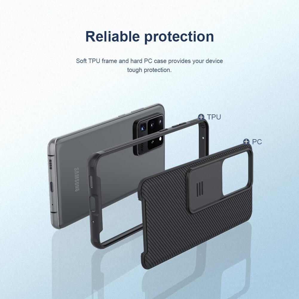 قاب محافظ سامسونگ گلکسی اس 20 اولترا Nillkin CamShield Pro Case S20 Ultra