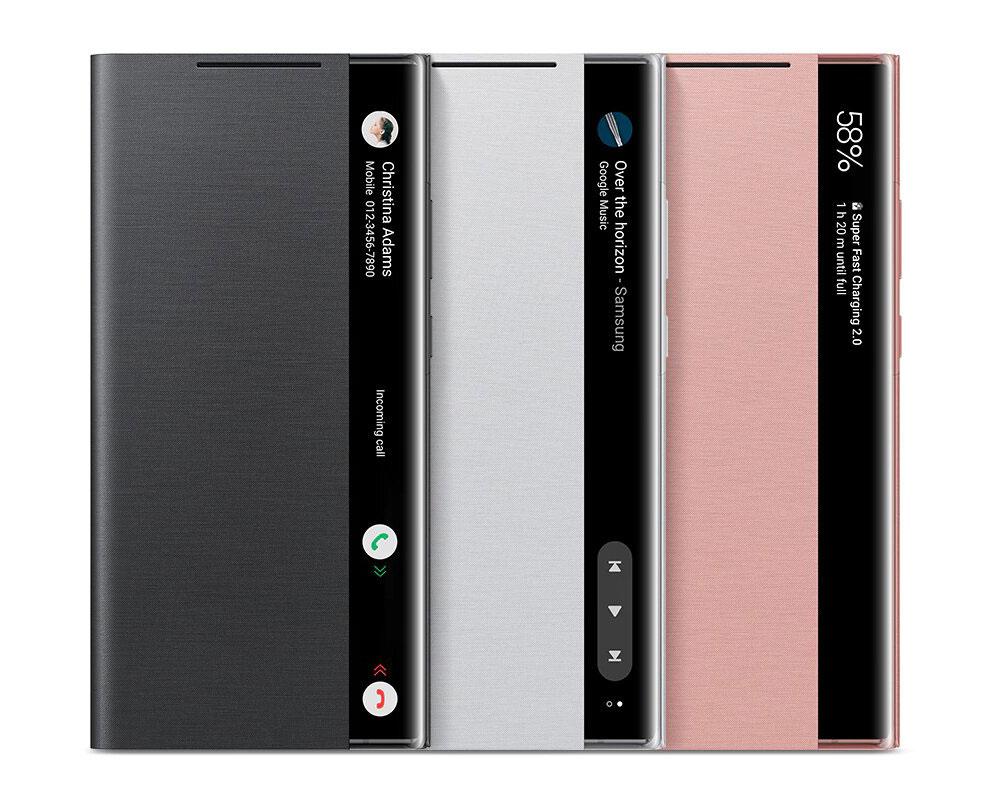 کیف اصلی سامسونگ نوت 20 اولترا Galaxy Note 20 Ultra Clear View Cover