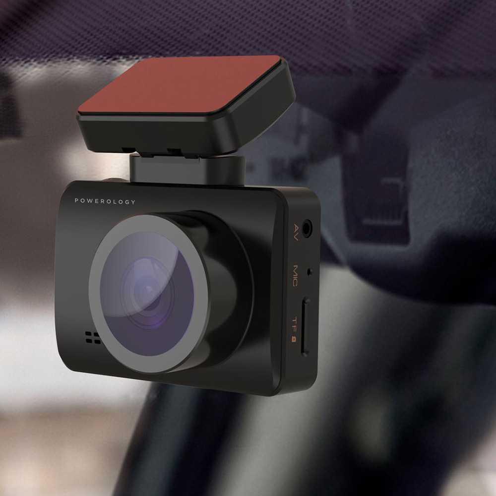 دوربین فیلمبرداری خودرو برند پاورولوجی مدل PDCMQ58PBK Powerology Dash Camera Pro