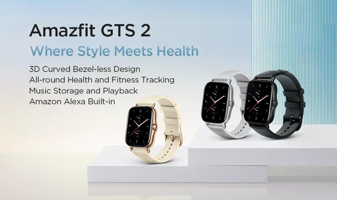قیمت و خرید ساعت هوشمند امیزفیت Amazfit GTS 2