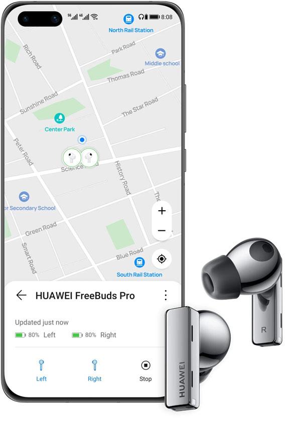 مشخصات هندزفری بی سیم هواوی HUAWEI FreeBuds Pro
