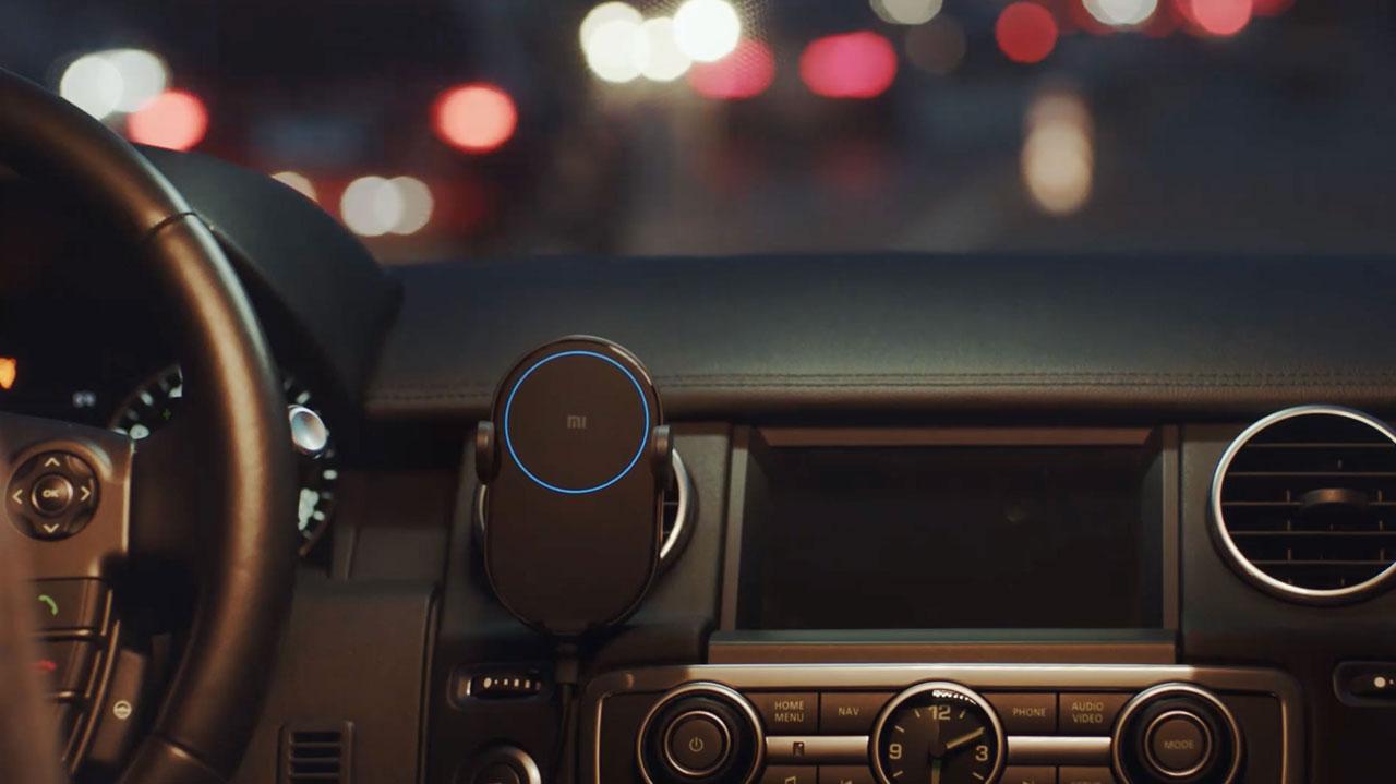 قیمت و خرید شارژر بی سیم خودرو شیائومی Mi 20W Wireless Car Charger