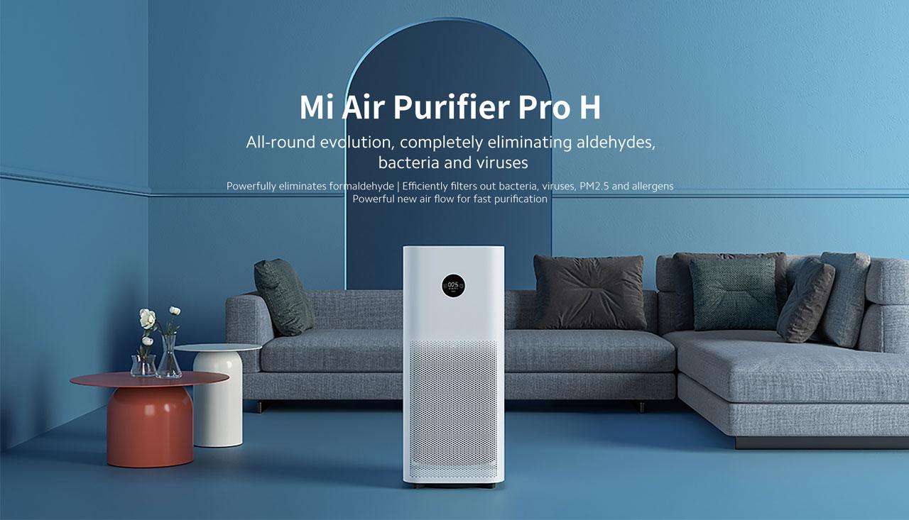 قیمت دستگاه تصفیه هوا شیائومی Mi Air Purifier Pro H