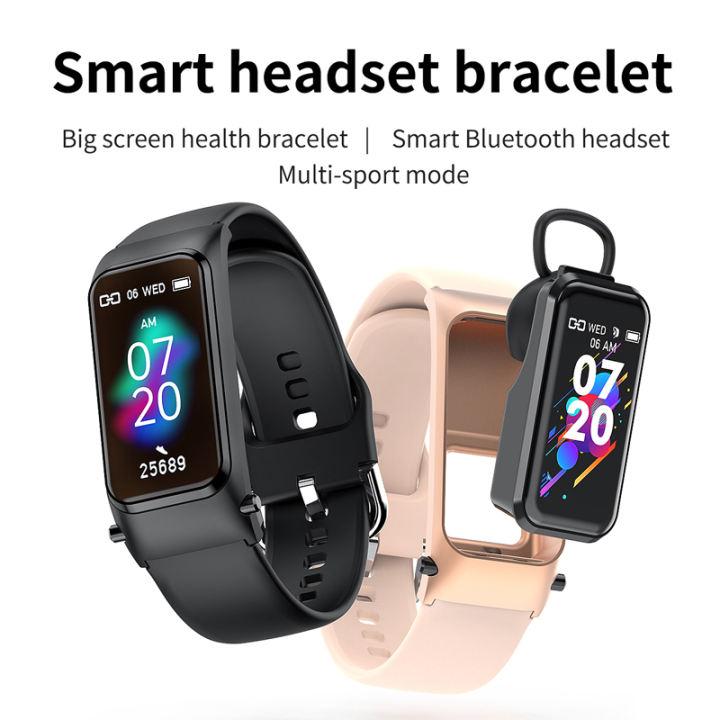 دستبند هوشمند با هندزفری MiSmart Talk Band 7