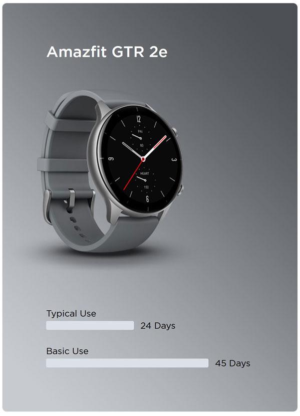 قیمت و خرید ساعت هوشمند امیزفیت Amazfit GTR 2e