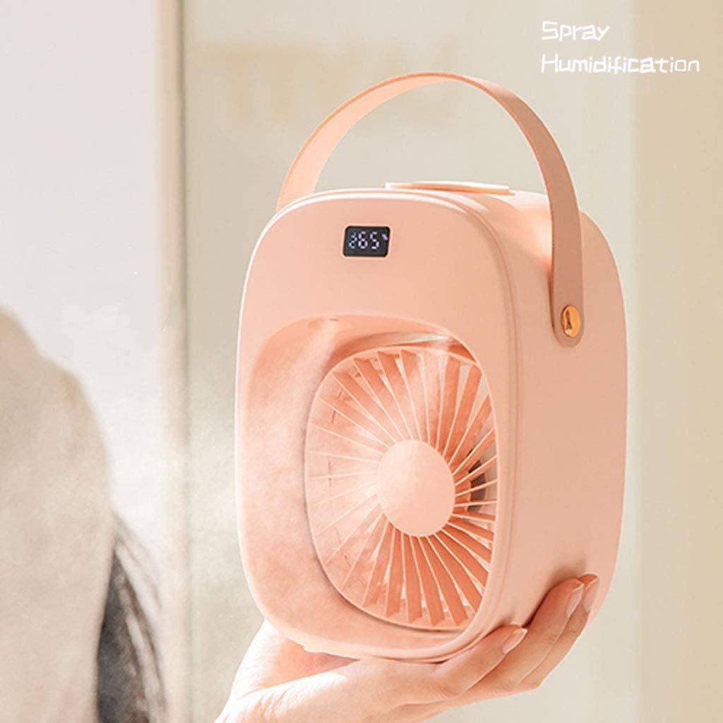 پنکه شارژی رومیزی با مخزن آب Cooling Fan D18