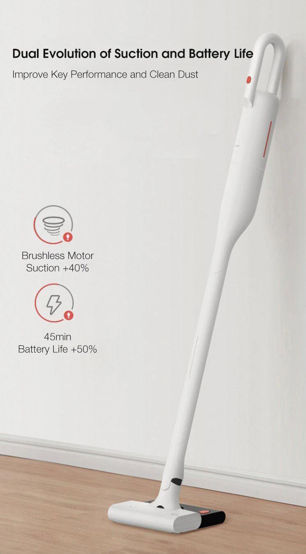 قیمت و خرید جارو شارژی درما شیائومی Deerma VC01 Max